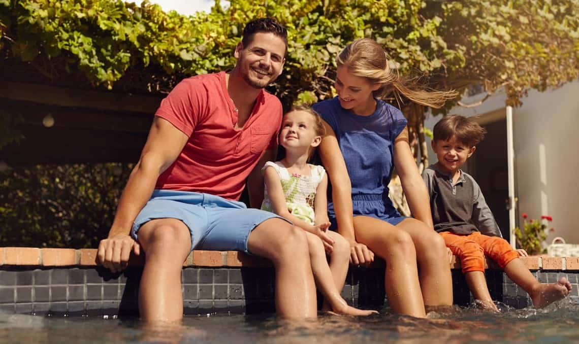 Your family's safety around swimming pools is our primary goal. Contact us if you need a pool safety fence installed. We can help.
